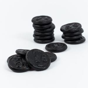 Dutch Licorice Sweet Coins