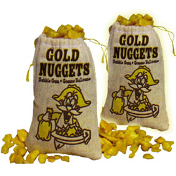 Gold Nuggets Bubblegum