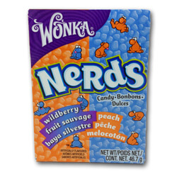 Wonka Nerds Peach & Wild Berry