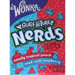 Wonka Nerds Surf & Turf Tropical Punch & Raspberry