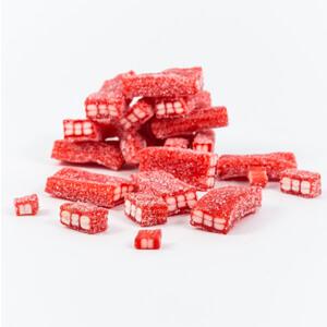 Fizzy Strawberry Bricks