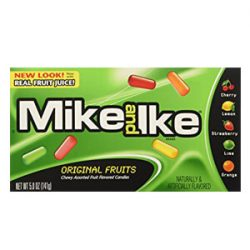 Mike and Ike original fruits