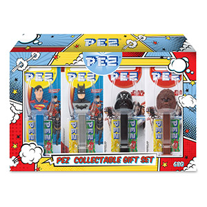 PEZ Collectable Set Justice League Star Wars